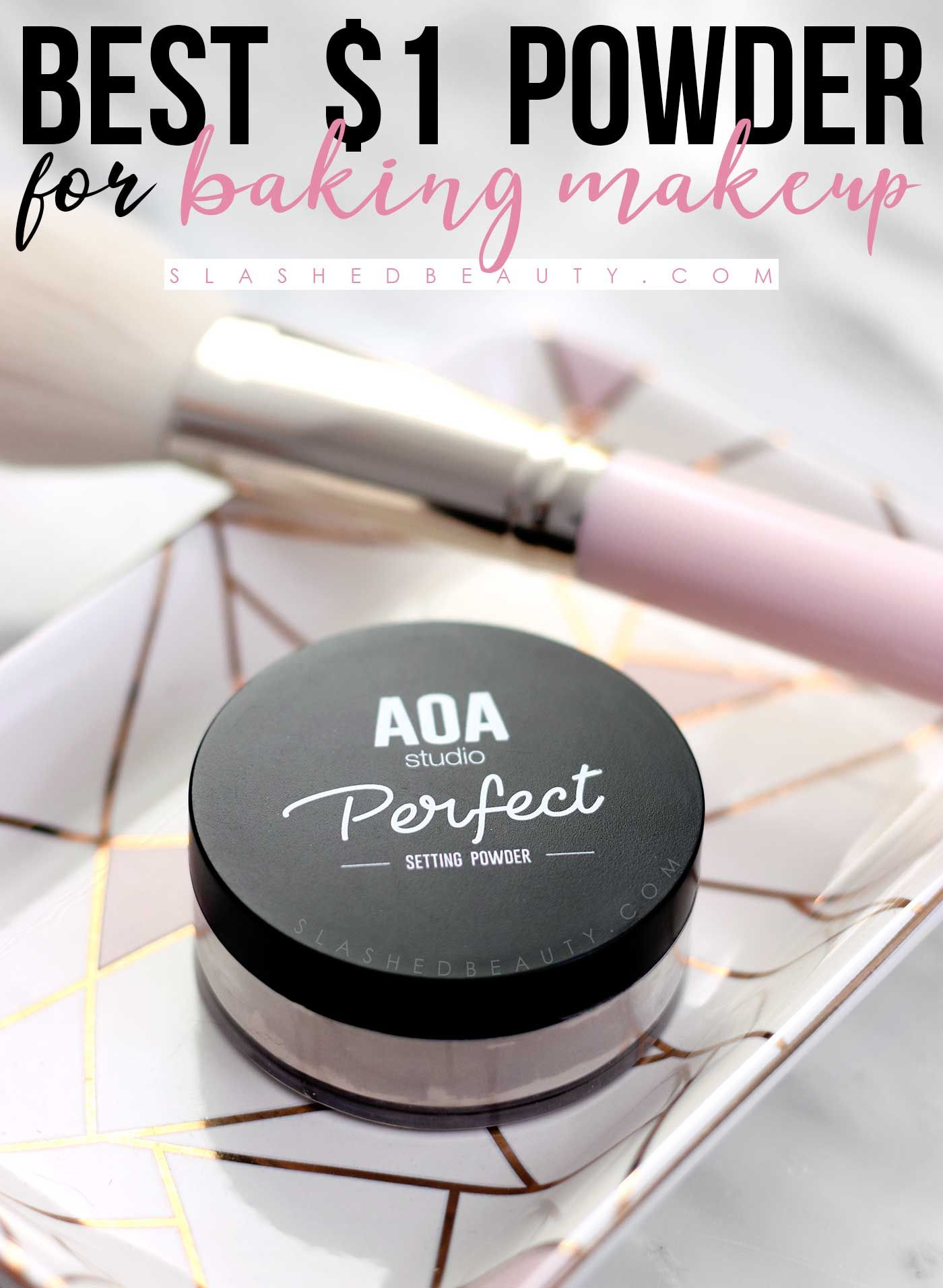 Best Powder for Baking on a Budget AOA Perfect Setting