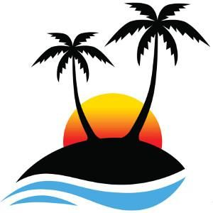 38 palm tree sunset clipart decals clipart etc pinterest rh pinterest com sunset clip art black and white sunset clipart image