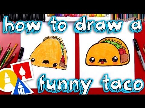 How To Draw A Taco Art Hub For Kids