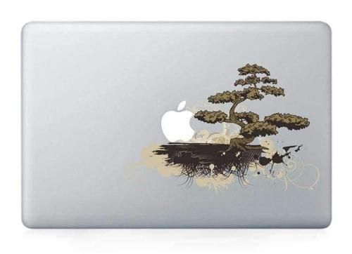 Bonsai Japanese Tree MacBook Sticker