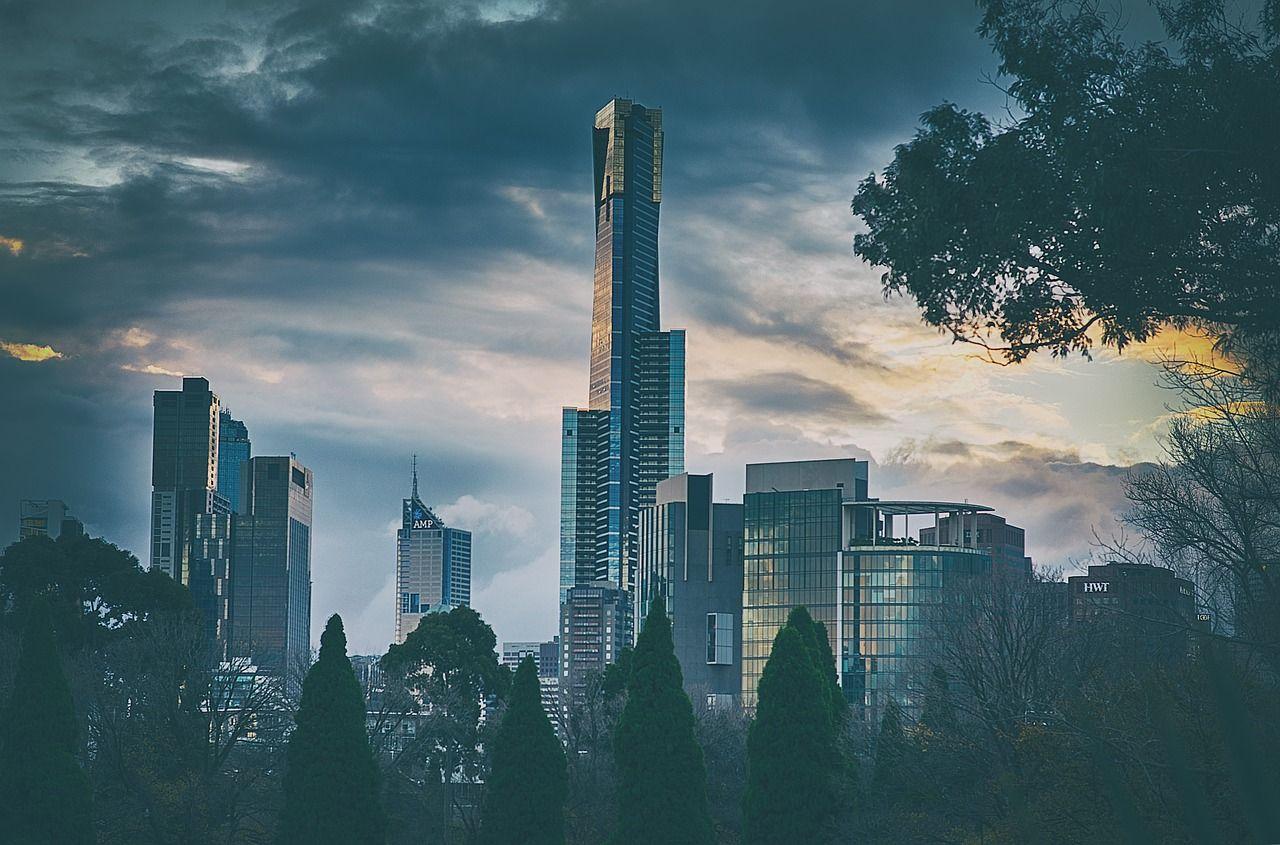 Australia melbourne city cityscape tower sky skyscra