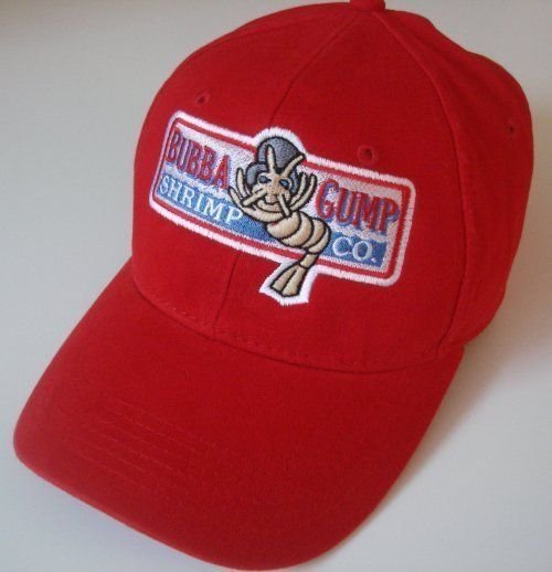 b7421fd1 Bubba Gump Shrimp Co cap Tom Hanks embroidered logo Hat Run Forrest costume  $28.95 + 5% off #caps @teesRus @Bonanza Marketplace