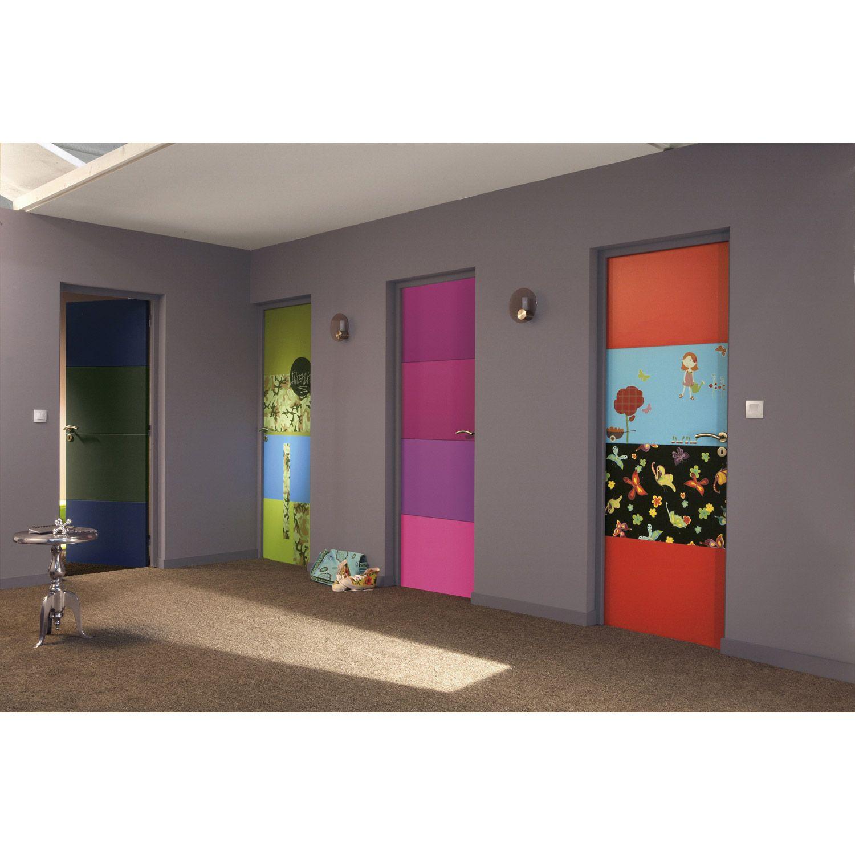bloc porte isoplane grav pr peint milan pleine poussant. Black Bedroom Furniture Sets. Home Design Ideas
