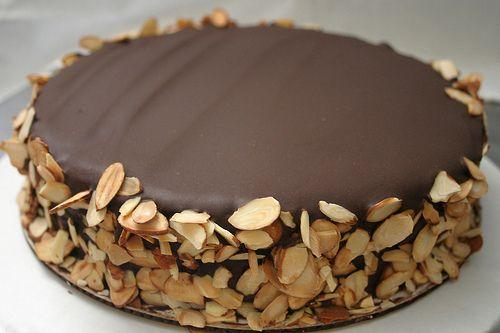 Julia Child Almond Chocolate Cake Gluten Free