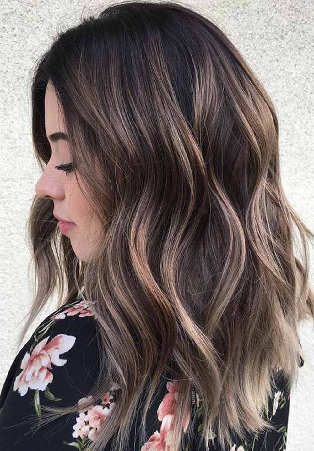 30 Best Trend Of Summer Hair Color Ideas For Brunettes In 2020 Hair Highlights Brown Hair Makeover Beautiful Hair
