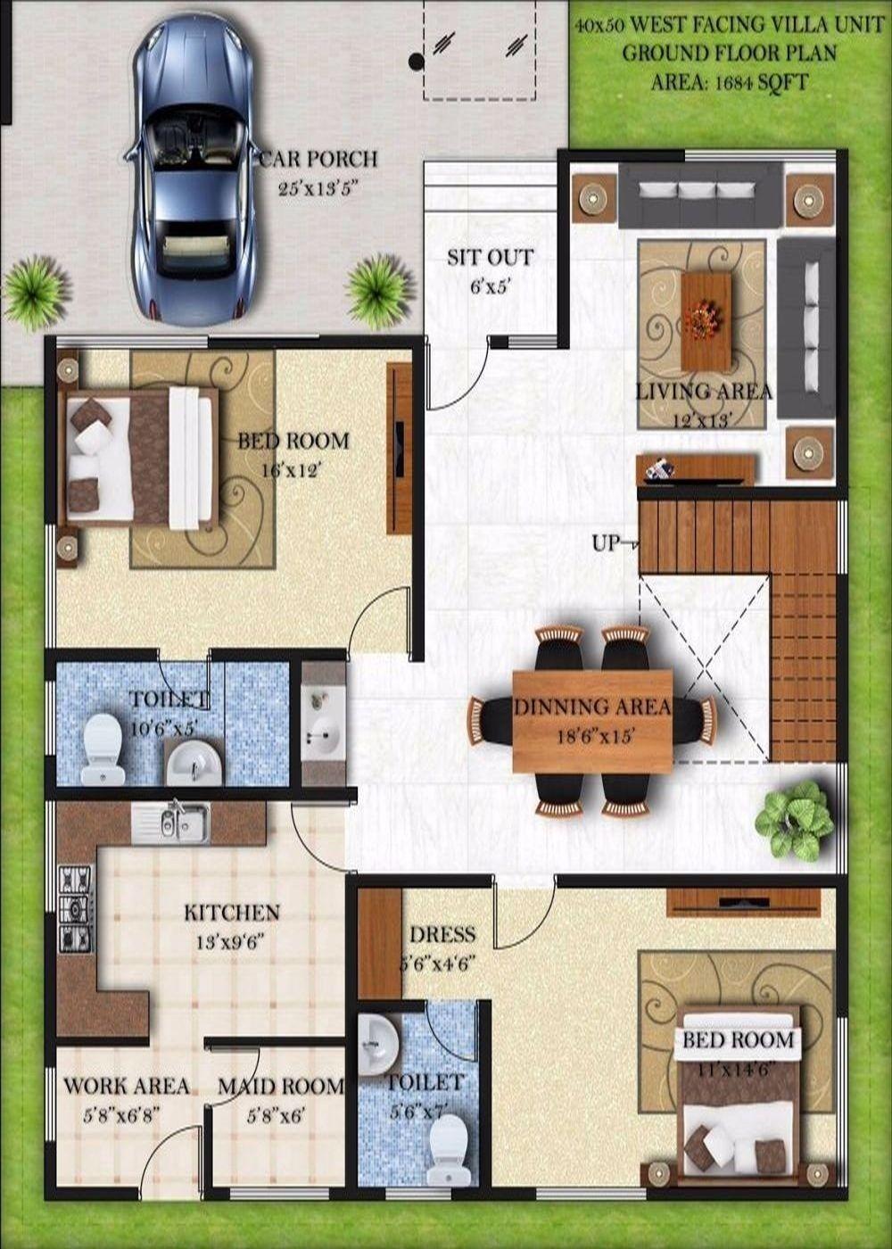 40 50 House Floor Plans Best Of Uncategorized Home X Inside Beauteous Duplex House Plans 2bhk House Plan Floor Plans