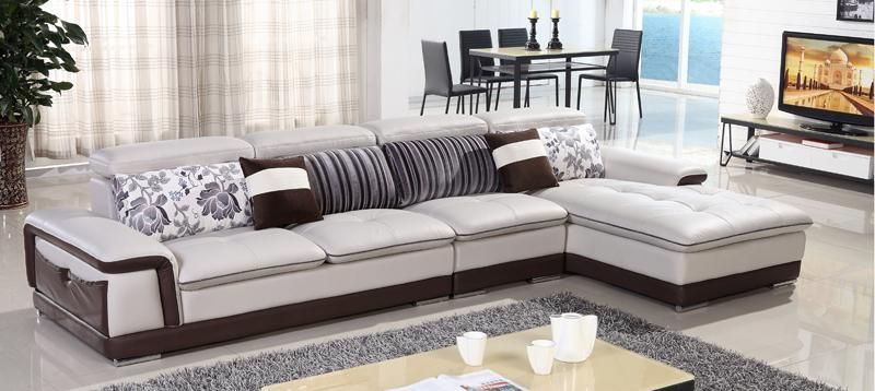 Free Shipping Genuine Leather Sofa, Top Grain Cattle Leather L Shaped  Combination Corner Sofa Best Designer Modern Sofa Set 2026