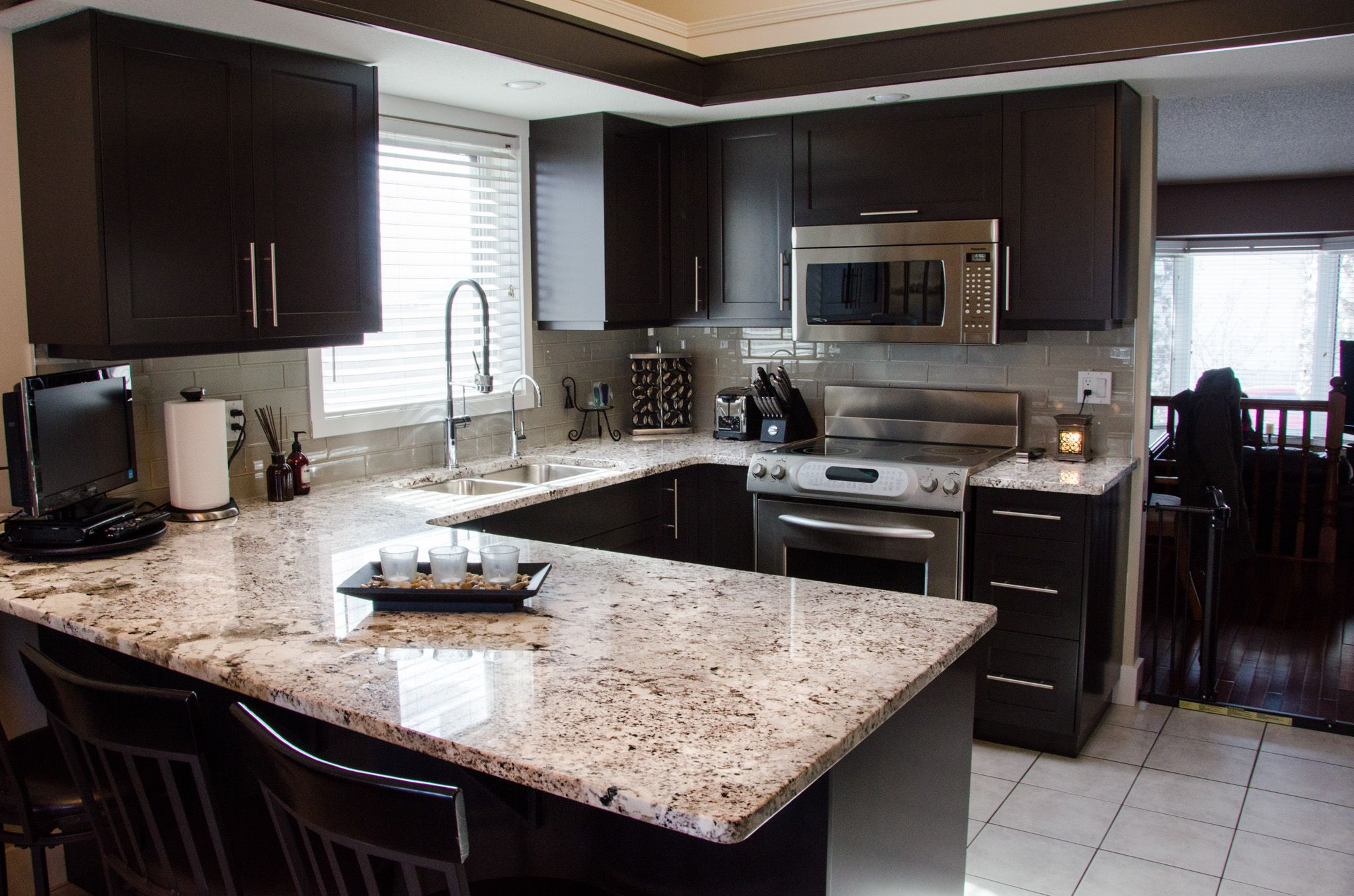 luxury granite granite countertops modern design kitchen ideas rh pinterest ca