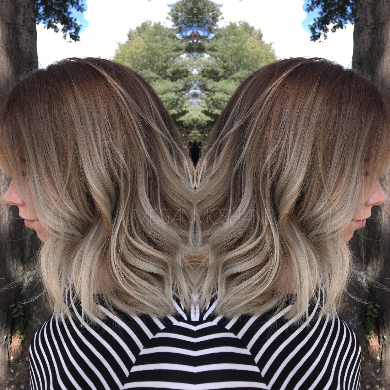 Balayage . Fall hair . Balayage ombré . Smudged root . Shadow root . Texas hairstylist . Ombré . Balayage hair . Hair By Megan McShane . Silver hair . Silver ombré .