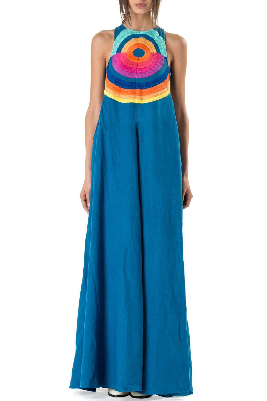 2ad7d4190444 Embroidered Cutout Maxi Dress. Mara Hoffman