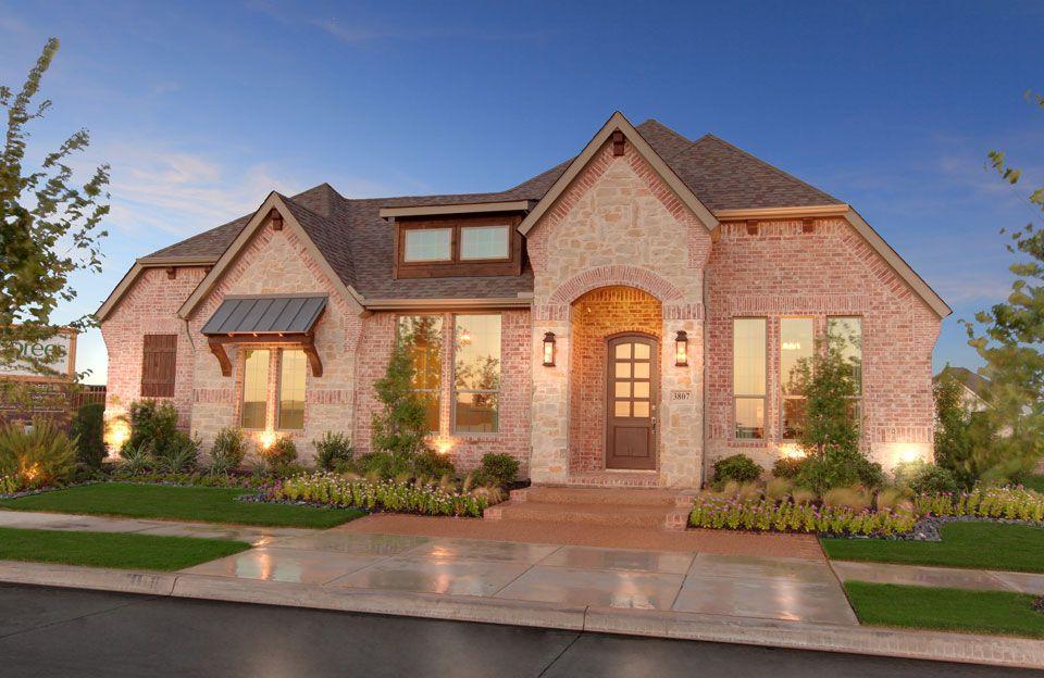 Drees Homes Arlington Texas Corona Exterior Model