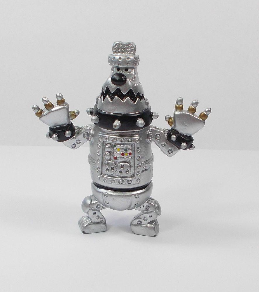 Wallace Amp Gromit Robot Preston Mini Toy Figure