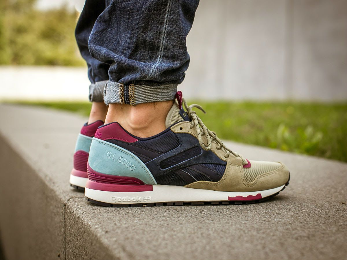 168e732ae479f1 On feet look at the new Reebok GL 6000 BP  Acid Gold  - Modern Hype Magazine