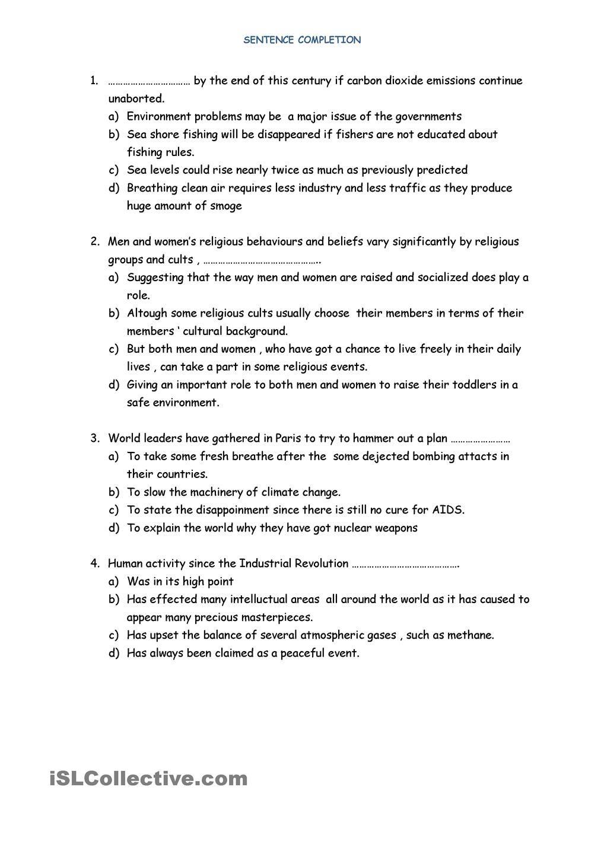 sentence completion   Worksheets   Pinterest   Sentences, Worksheets ...