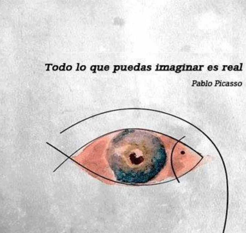 Todo lo que puedas imaginar es real... Picasso   MotivArte ...