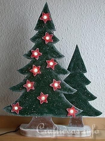 Free Wood Projects For Christmas Wood Craft For Christmas Scroll Saw Project Lighted Wooden Christmas Crafts Christmas Tree Crafts Wooden Christmas Trees