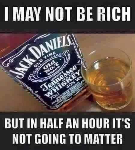 Whiskey solves problems