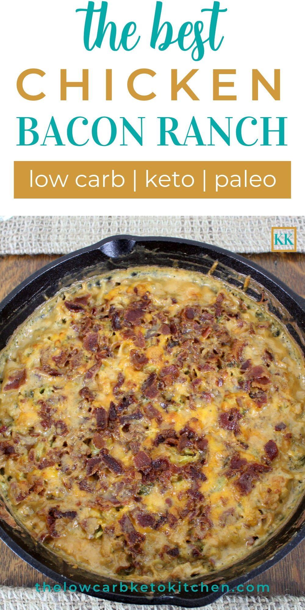Keto Ranch Chicken Casserole Recipes