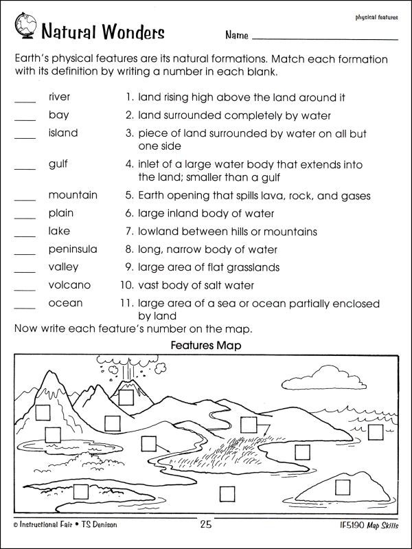 Worksheet Map Skills Worksheets 3rd Grade free map skills ...