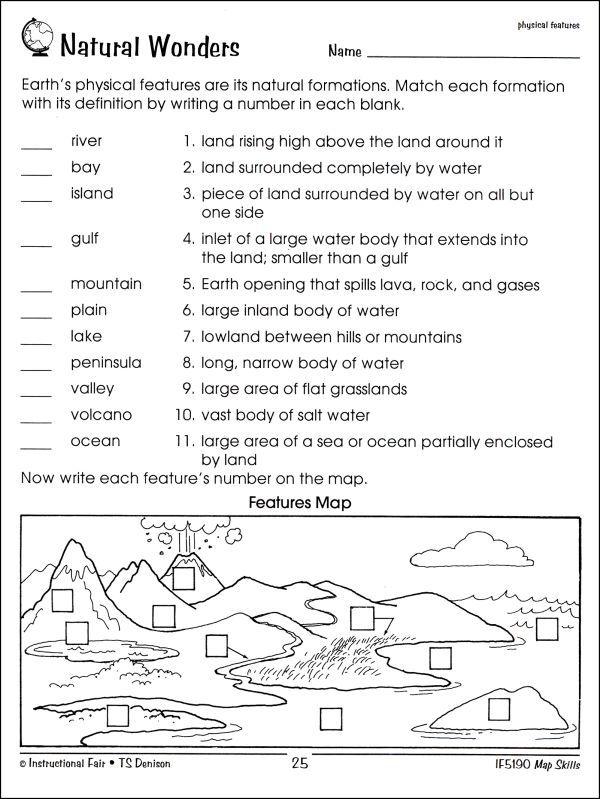 Worksheet Map Skills Worksheets 3rd Grade free map skills ...