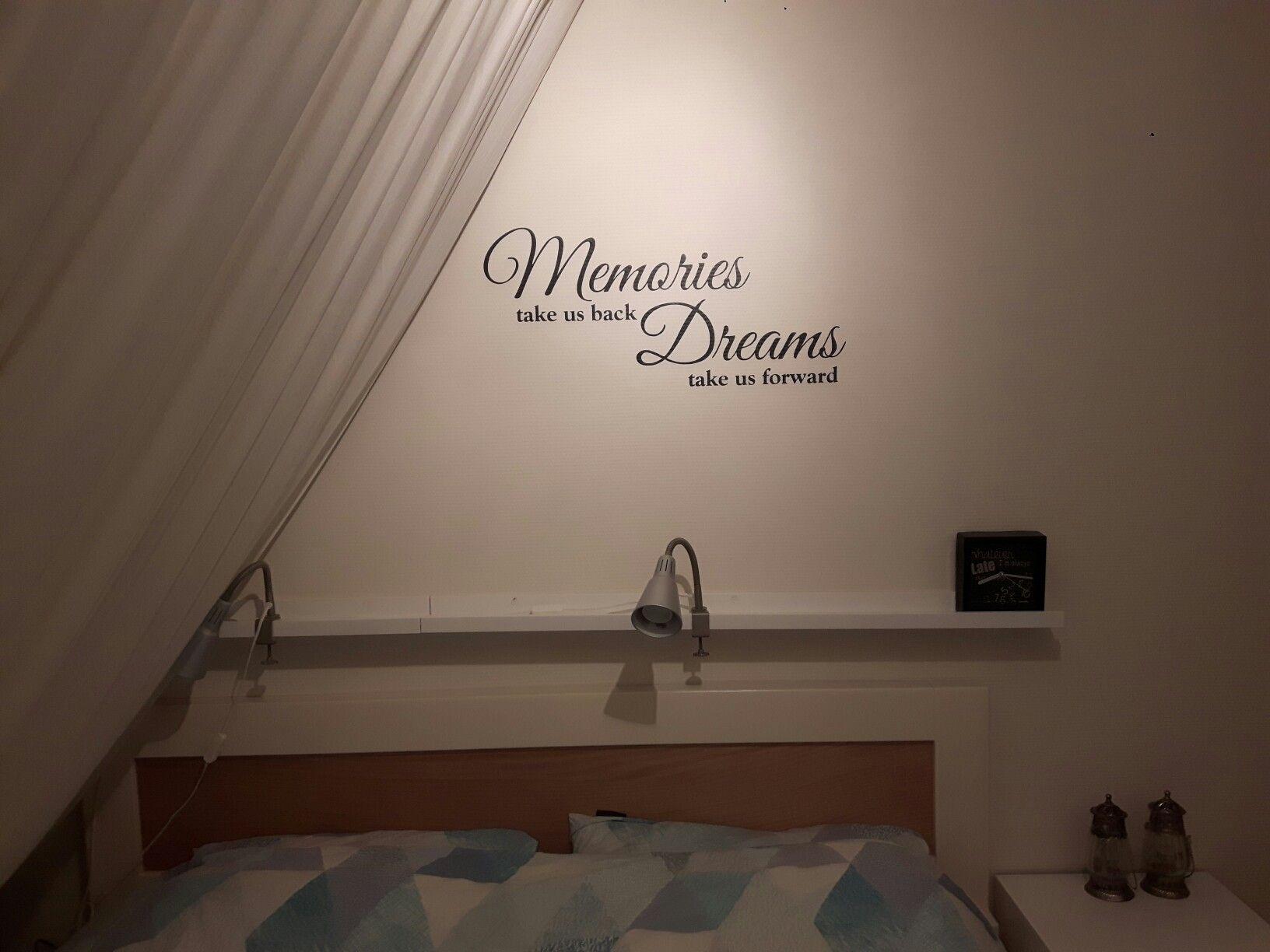 Tekst op muur