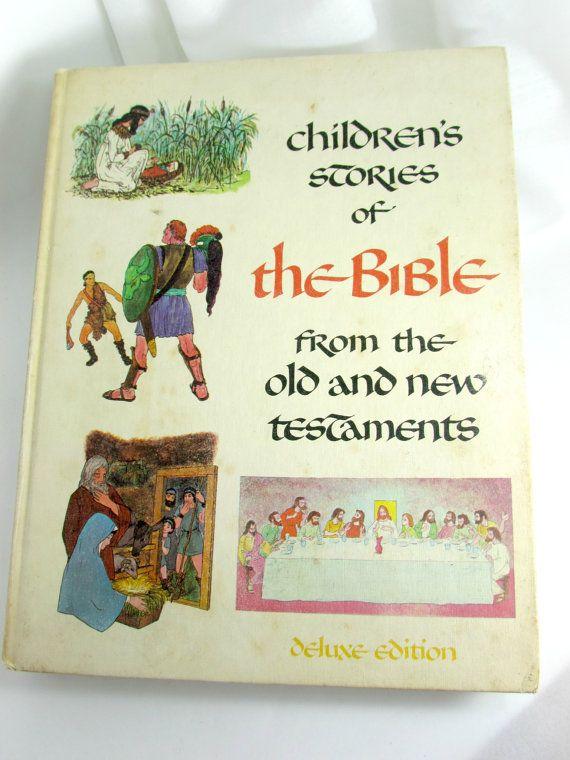 Children's Stories of the Bible | My childhood memories ...