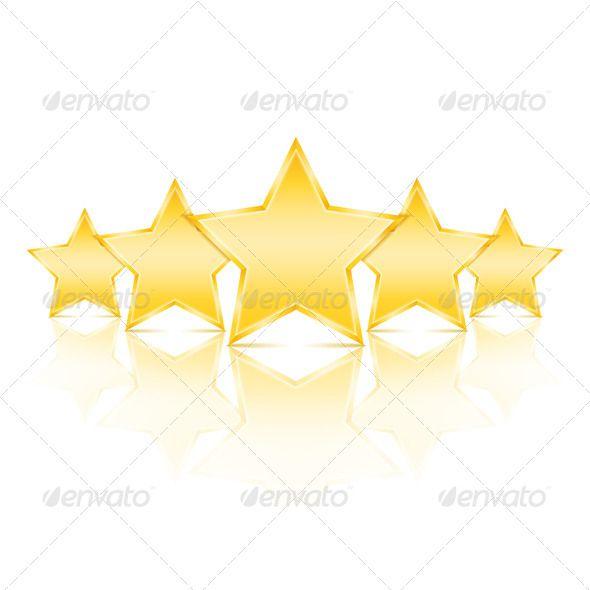 Five Stars Template Design Graphic Prints Five Star