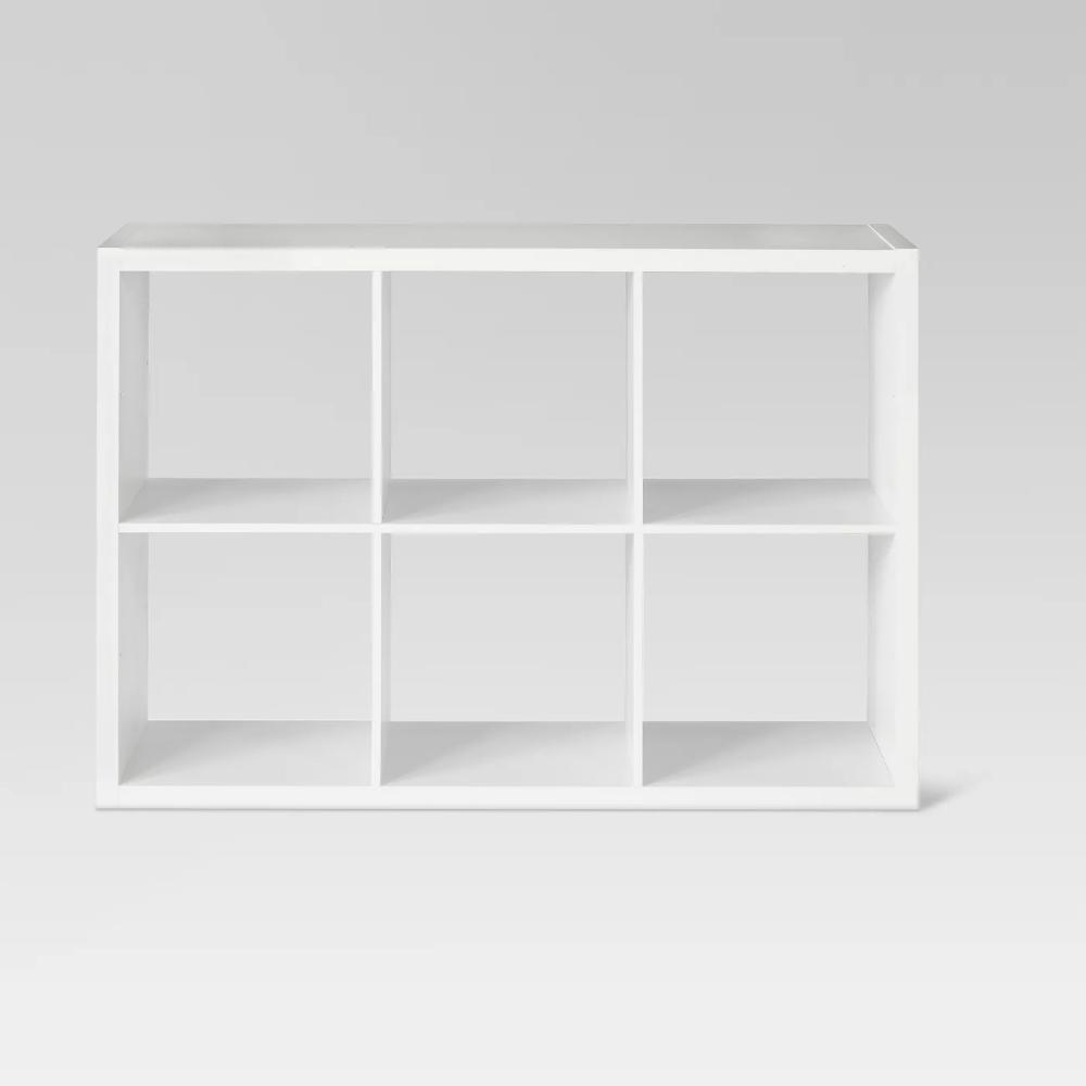 6 Cube Storage Unite White Cube Storage Cube Storage Unit
