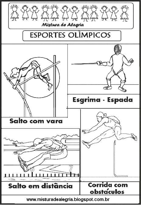 Esportes Olimpicos Para Imprimir Colorir 281 29 Jpg 464 677