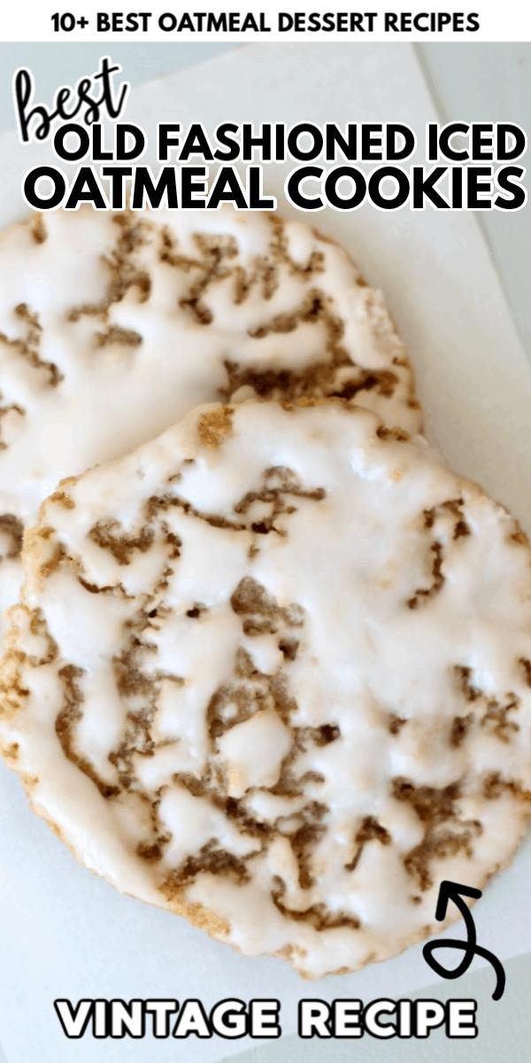 Oatmeal Dessert Recipes