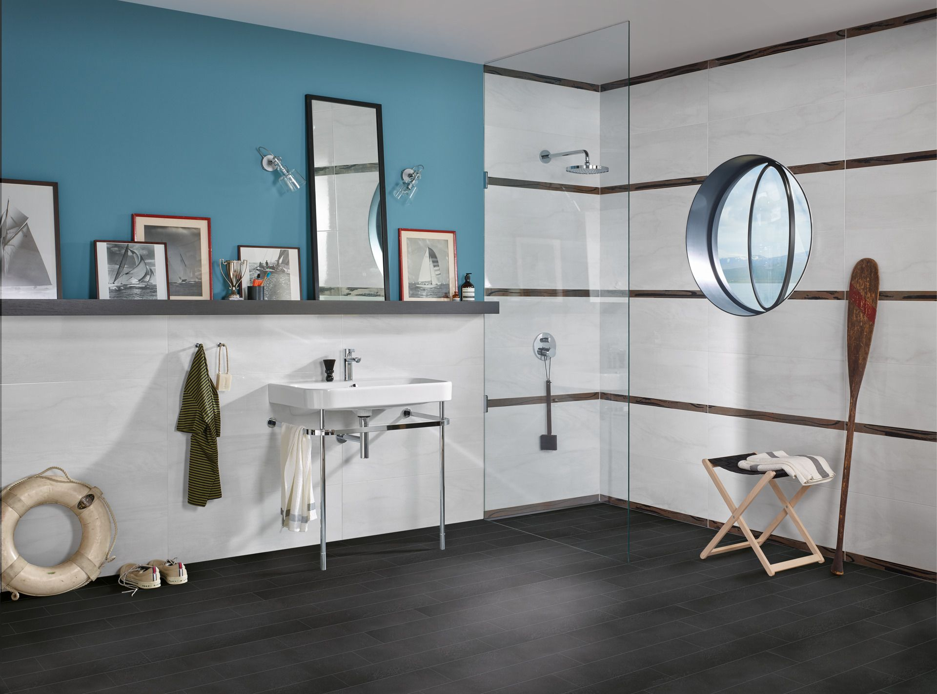 Fliesen Mit Der Hygiene Oberflache Hytect Lassen Sich Besonders Einfach Reinigen Verkalken Weniger Schnell Wirken Anti Badezimmer Gestalten Badezimmer Dusche