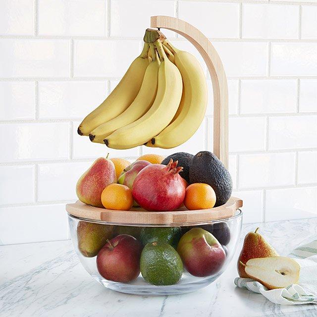 Just Ripe Fruit Bowl Banana Hanger Fresh Fruit Uncommongoods Fruit Bowl Display Fruit Bowl Fruit