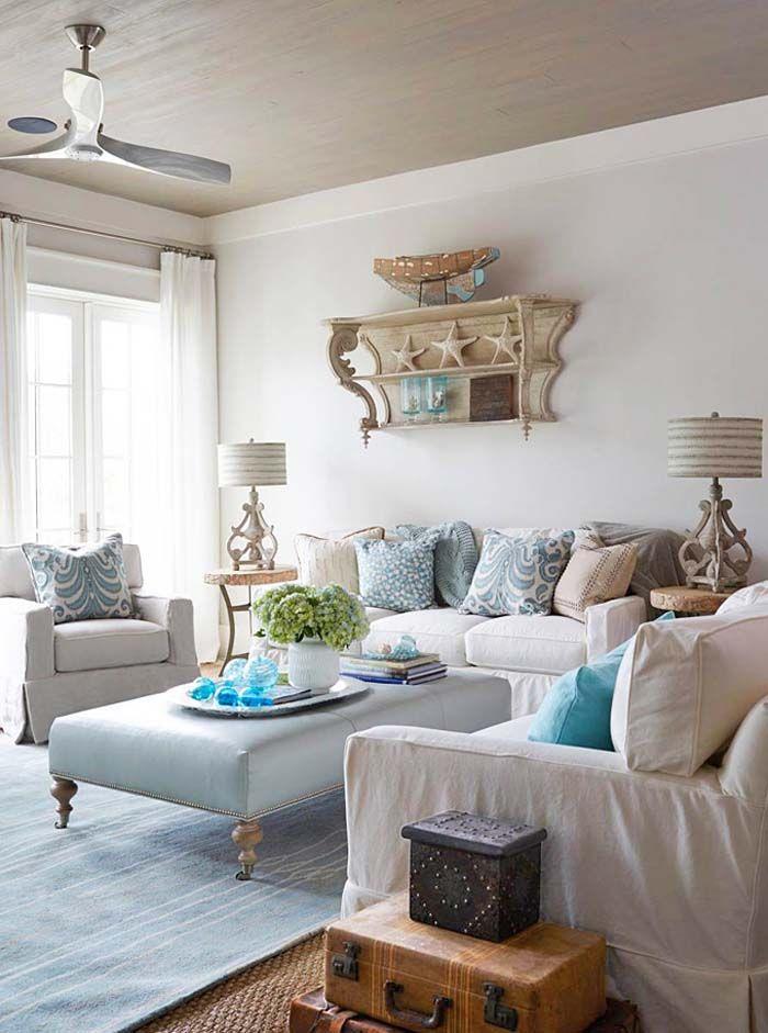 Coastal Family Room Jpg 700 941 Avec Images Deco Maison