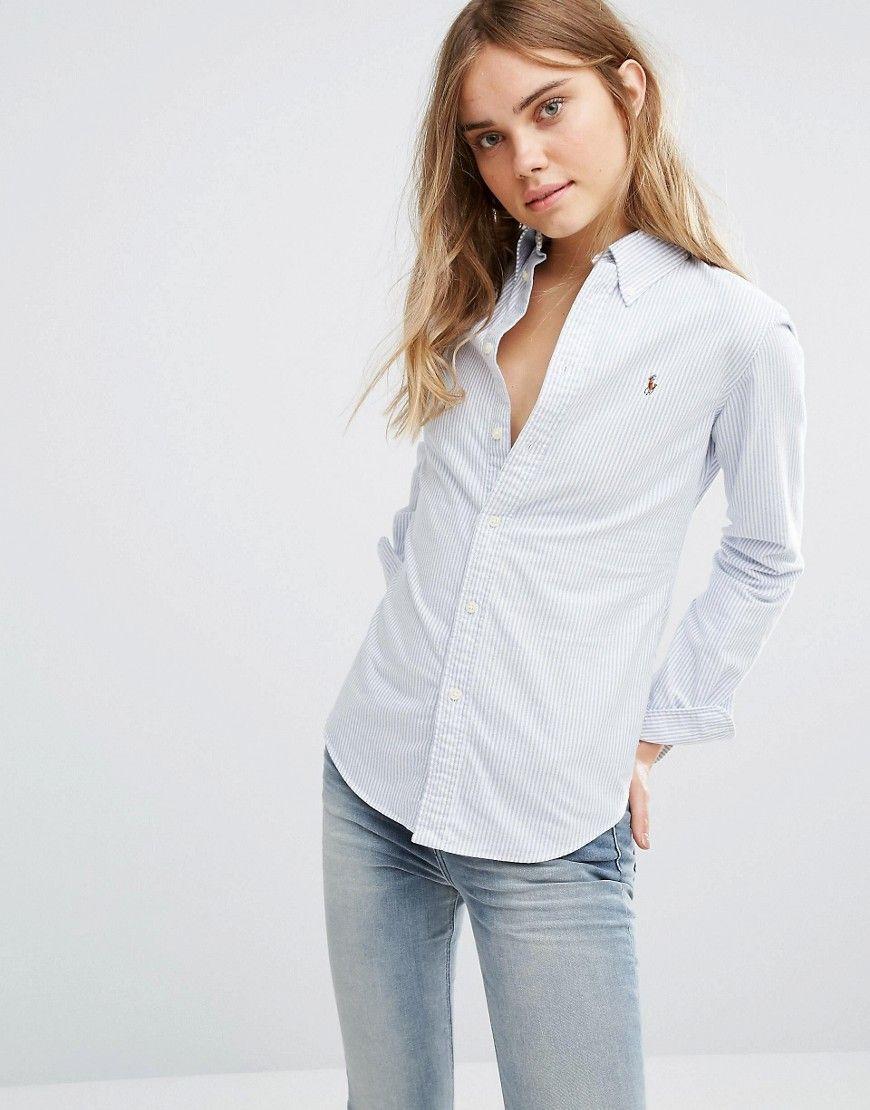 cf873fac8 Polo Ralph Lauren classic stripe oxford shirt