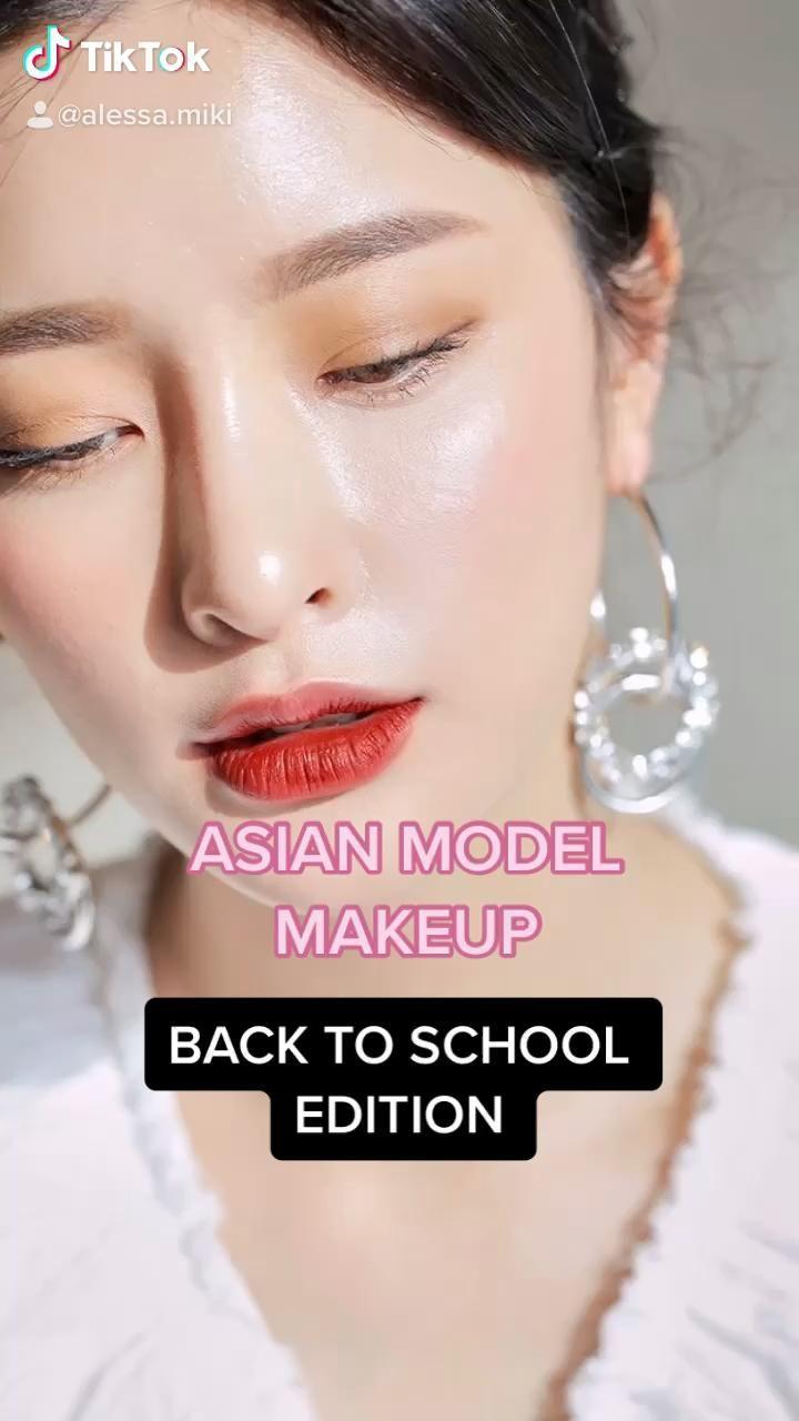 Natural Asian Model Makeup