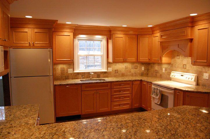 Maple Cabinets Granite Countertops Maple Kitchen Cabinets Maple Cabinets Maple Kitchen