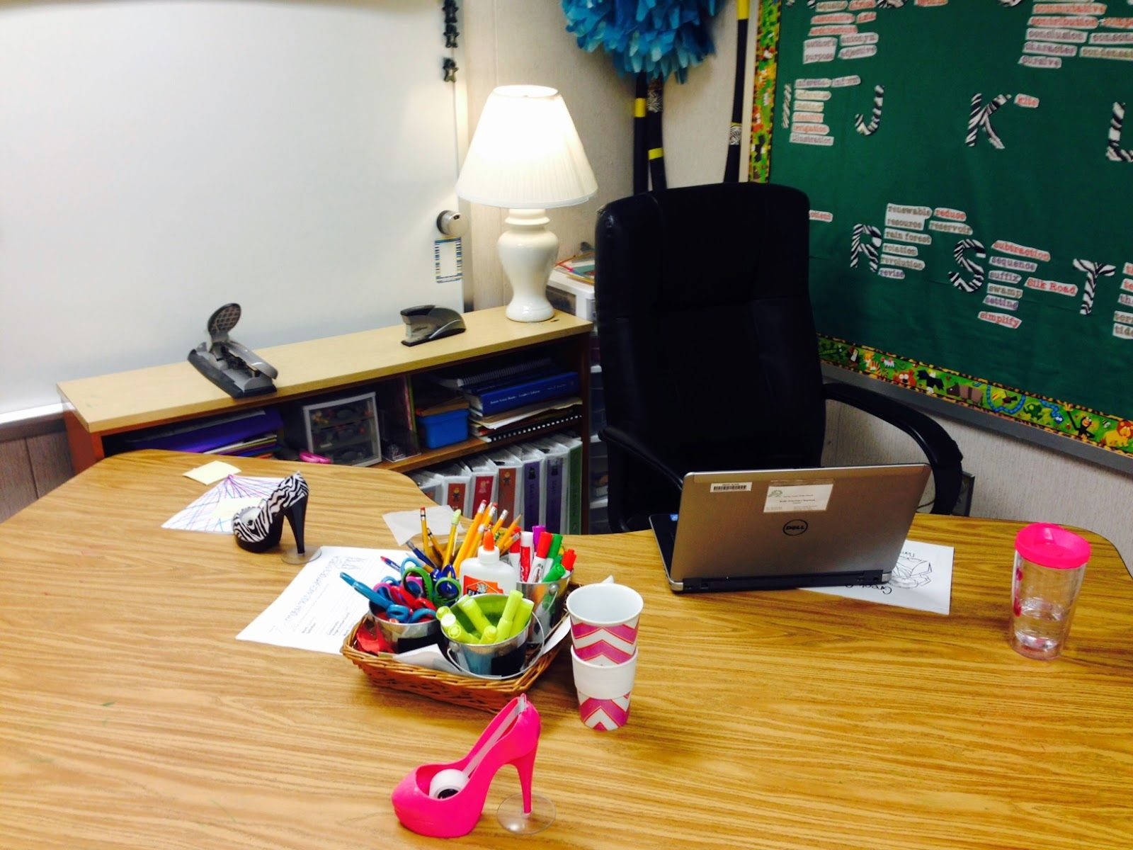 teacher desk vs. teacher space | classroom | classroom, teacher