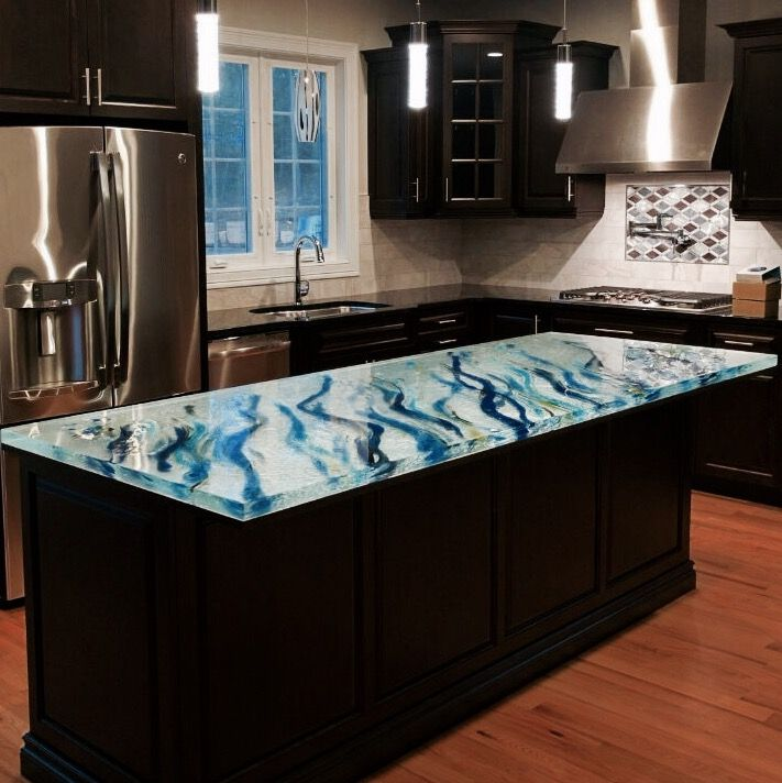 Delicieux Delivered In April 2016, This Spectacular Artistic Countertop By Glass  Artistu2026