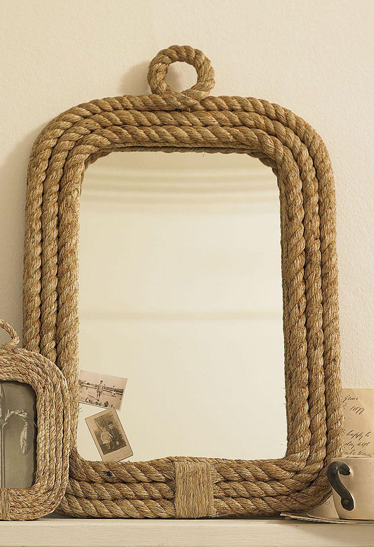 Aqu veremos algunas ideas rusticas muy interesantes para - Hacer marcos para espejos ...