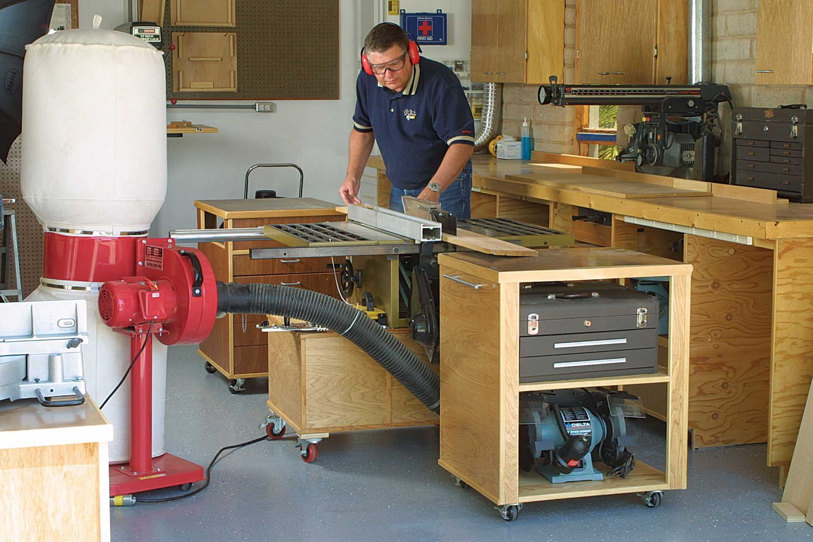 Rolling Drawers And Other Garage Storage Ideas Handy Man