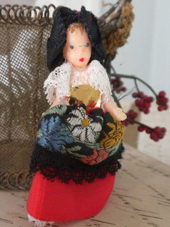 Teeny Spanish Doll #spanishdolls