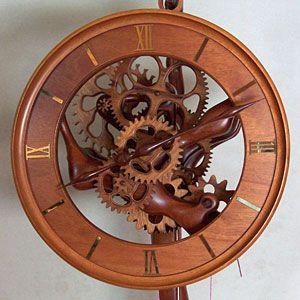 Wooden Clock Creating Beautiful Handmade Custom