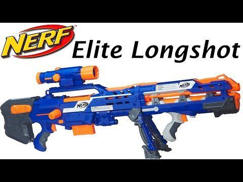 Nerf N Strike Elite Longshot Cs 6 Unboxing And Review