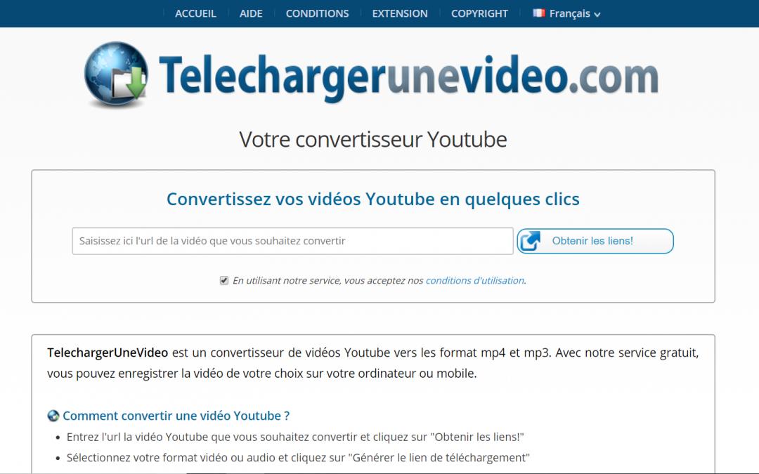 télécharger lien youtube