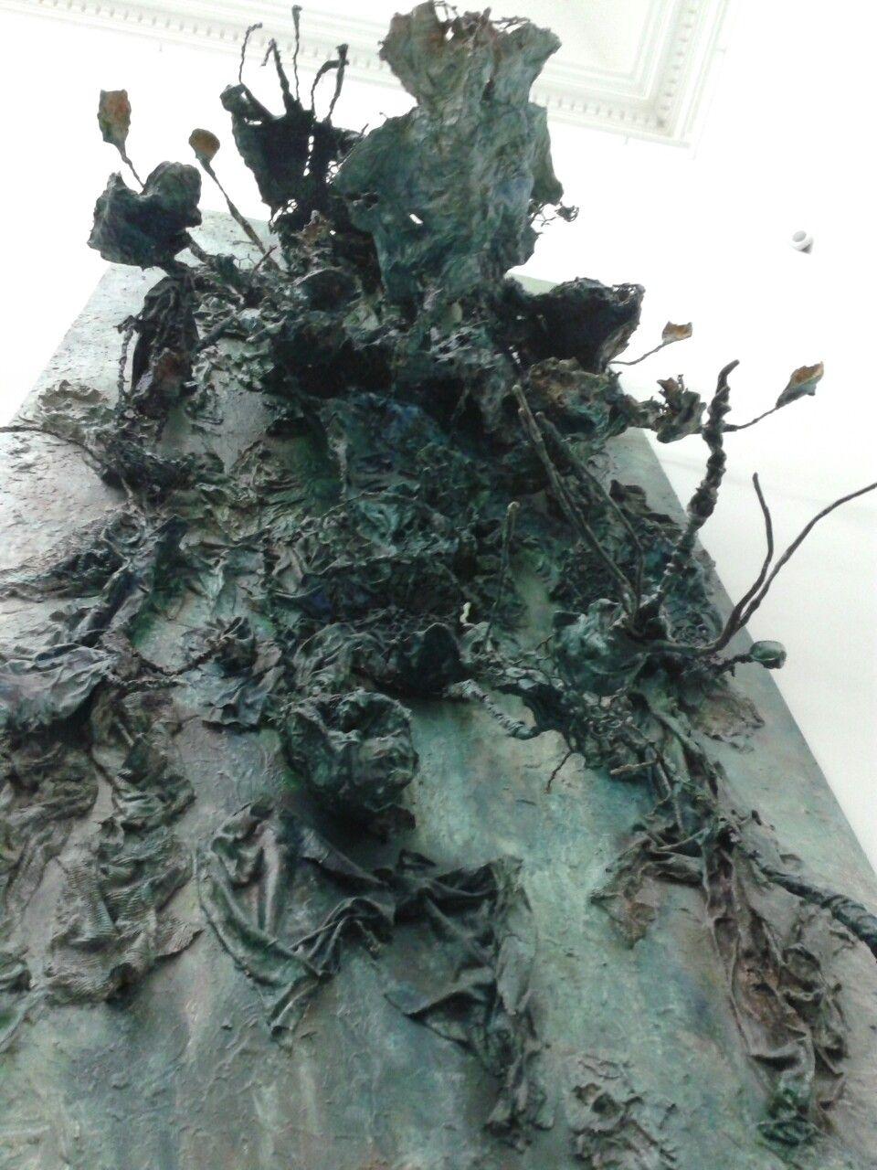 Bernard Schultze Large Blue Migof 1971 76 Skulpturen Kunstmuseum Malerei