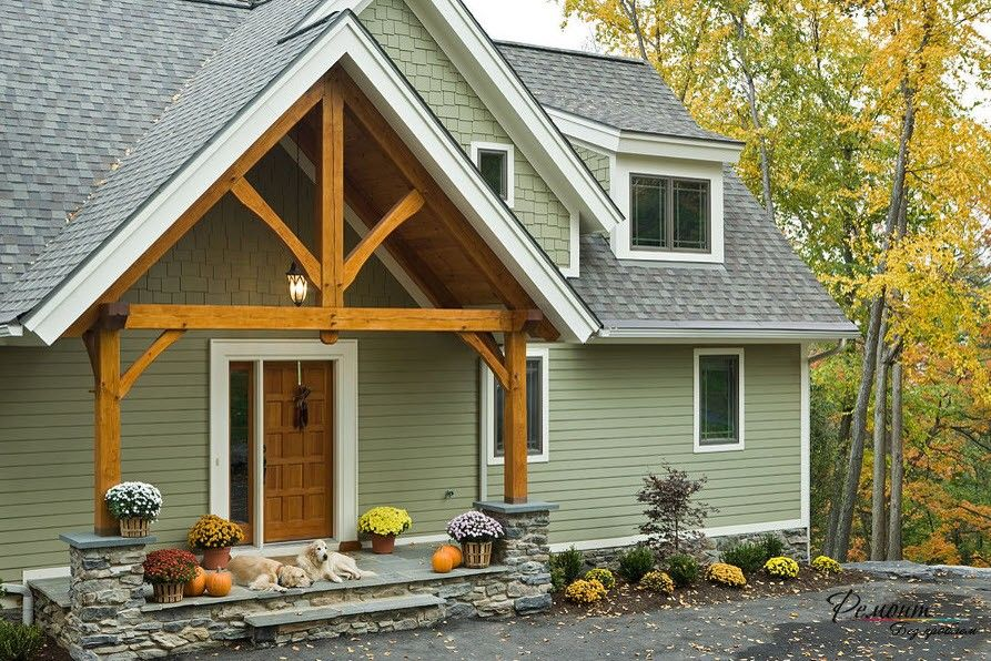 статье фото покраски дома и крыши сочетание цветов всем известно