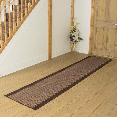 Innen-/Außenteppich Baitz in Braun ClassicLiving Teppichgröße: Rechteckig 100 cm x 150 cm #woodfloortexture