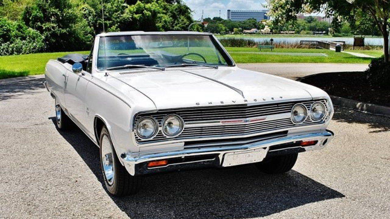 1965 Chevrolet Malibu for sale near Lakeland, Florida 33801 ...