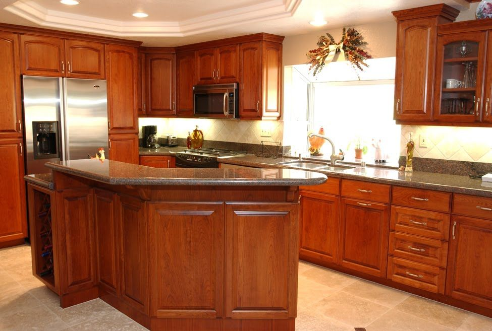 Cherry Kitchen Cabinets With Cider