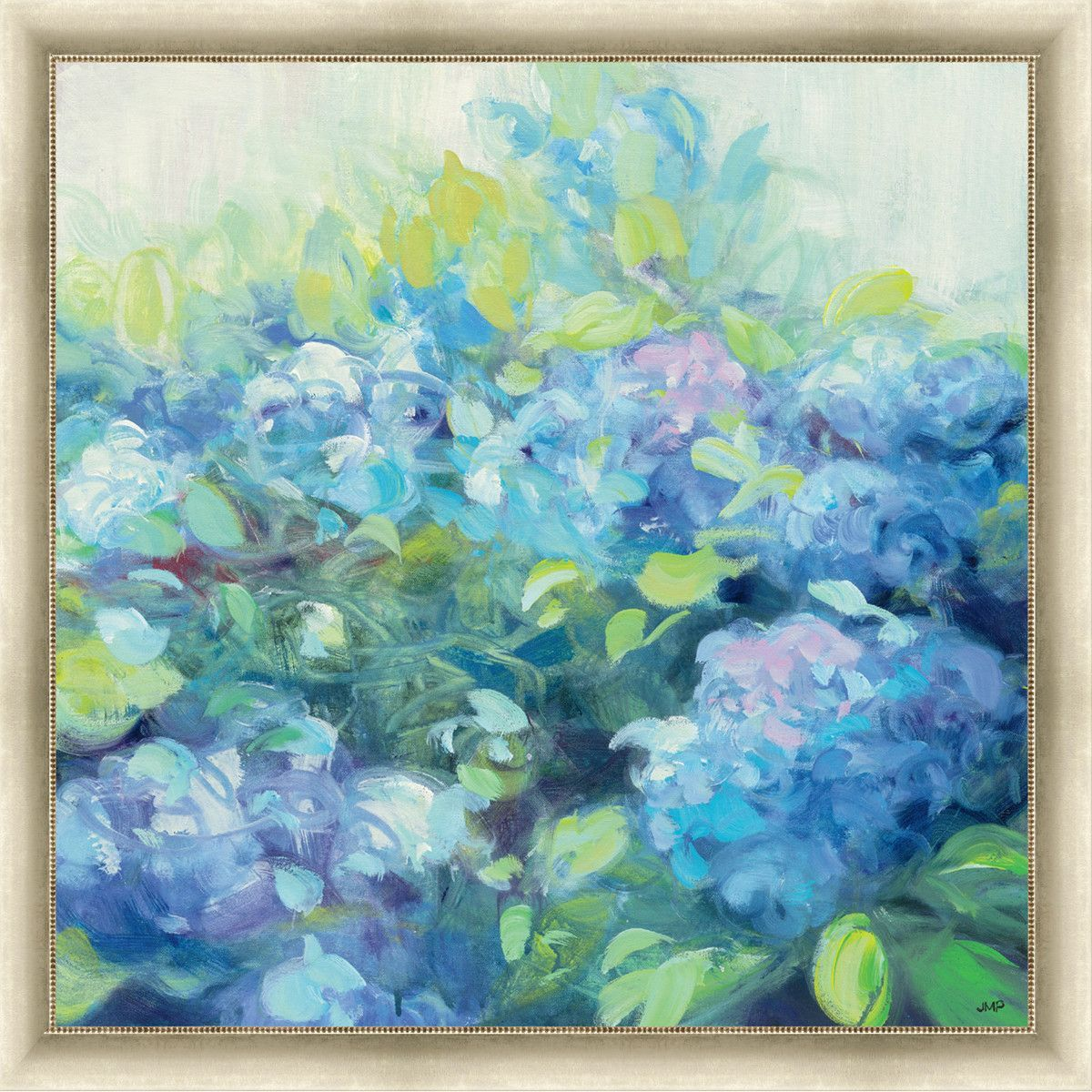 Bright hydrangea ii framed painting print products pinterest